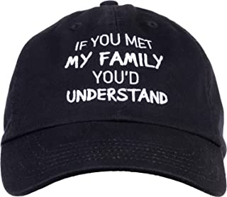 Red Baseball Hats for Men 2 PC Pack Cap Embroidery Snapback Hat Funny Expression