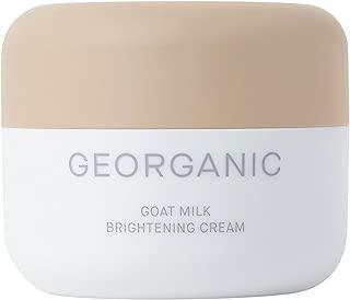 [GEORGANIC] Best Goat Milk Brightening Cream (75% Goat Milk Extract - Natural, Organic - Premium K-Beauty)