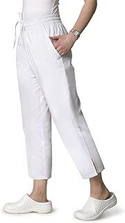 Adar Universal Natural-Rise Capri Drawstring Scrub Pants