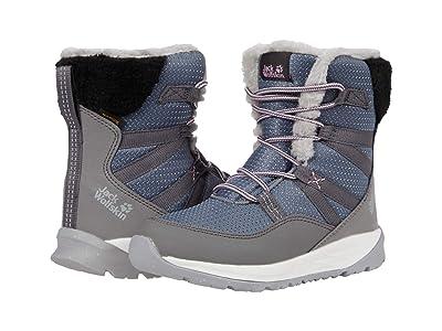Jack Wolfskin Kids Polar Wolf Texapore High (Toddler/Little Kid/Big Kid) (Pebble Grey/Off-White) Kids Shoes