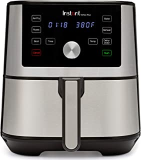 Instant Vortex Plus 6-in-1 Air Fryer, 6 Quart, 6 One-Touch Programs, Air Fry, Roast, Broil, Bake, Reheat, and Dehydrate