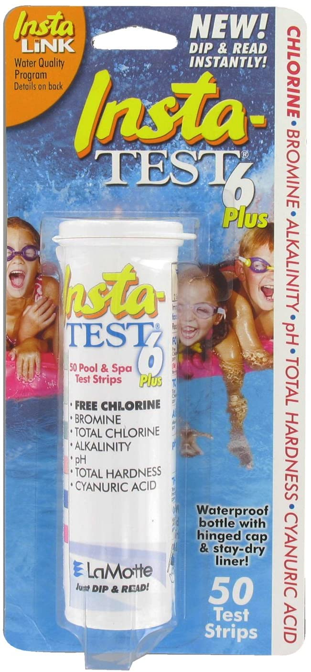 LaMotte 3028 Insta-Test Portland Mall Plus Overseas parallel import regular item 6-Way Test Strips