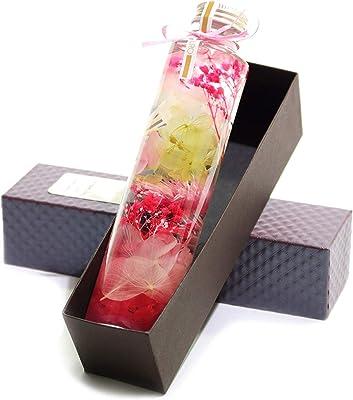 ハーバリウム リナ【Lina】専用BOX付 母の日 贈り物 誕生日 女性 記念日 プレゼント 花 結婚祝い 開店祝い 新築祝い ギフト 卒業 入学 (ピンクMIX)