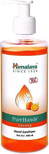 Himalaya Pure Hands Hand Sanitizer 500 ml Orange
