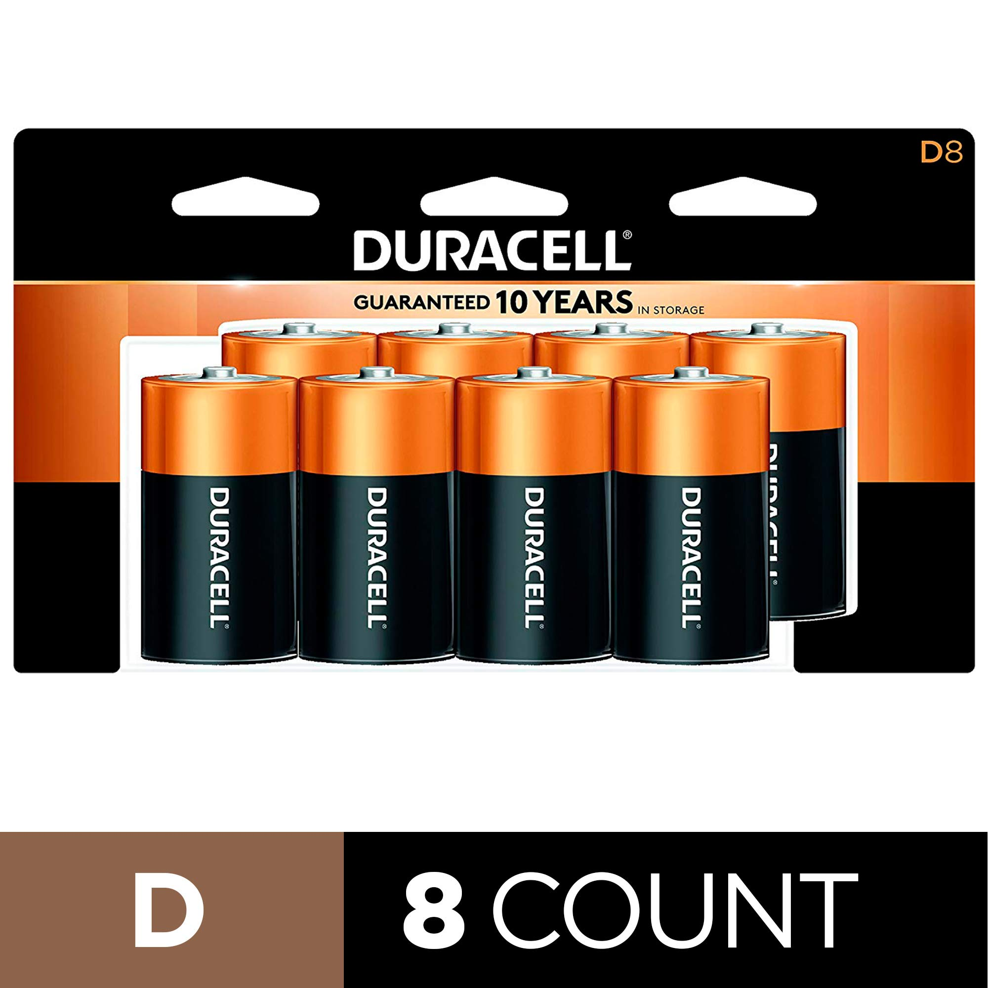 Duracell CopperTop Batteries recloseable all purpose