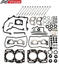 Head Gasket Bolts Set HS26170PT-1 Replacement for Subaru Forester and Impreza 1999-2003 2.5L Compatible with Subaru Legacy and Baja Outback 2000-2003 2.5L