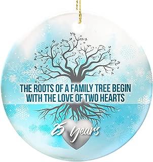 Graphic Rhythm 25th Anniversary Ornament - Family Tree