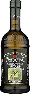 Colavita Extra Virgin Olive Oil, First Cold Pressed, 25.5 Fl Oz (Pack of 1), Glass Bottle