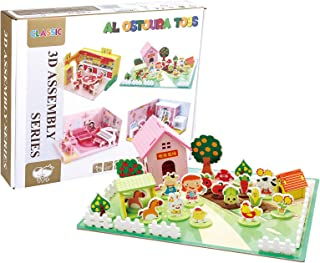 Al Ostoura Toys 3D Assembly Series Educational Wooden Toy