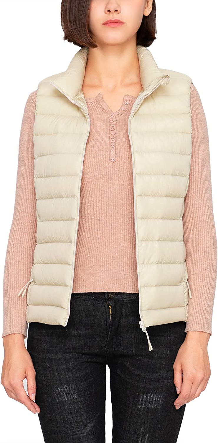 LAPASA Women's Lightweight Fashionable Water-Resistant P Reservation Puffer REPREVE Vest