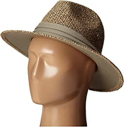 SGM502 Seagrass Panama Fedora w/ Cloth Band