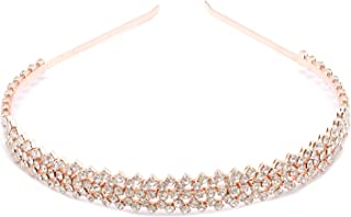 Topwholesalejewel Fashion Jewelry Rose Gold Plating Tiara Headband