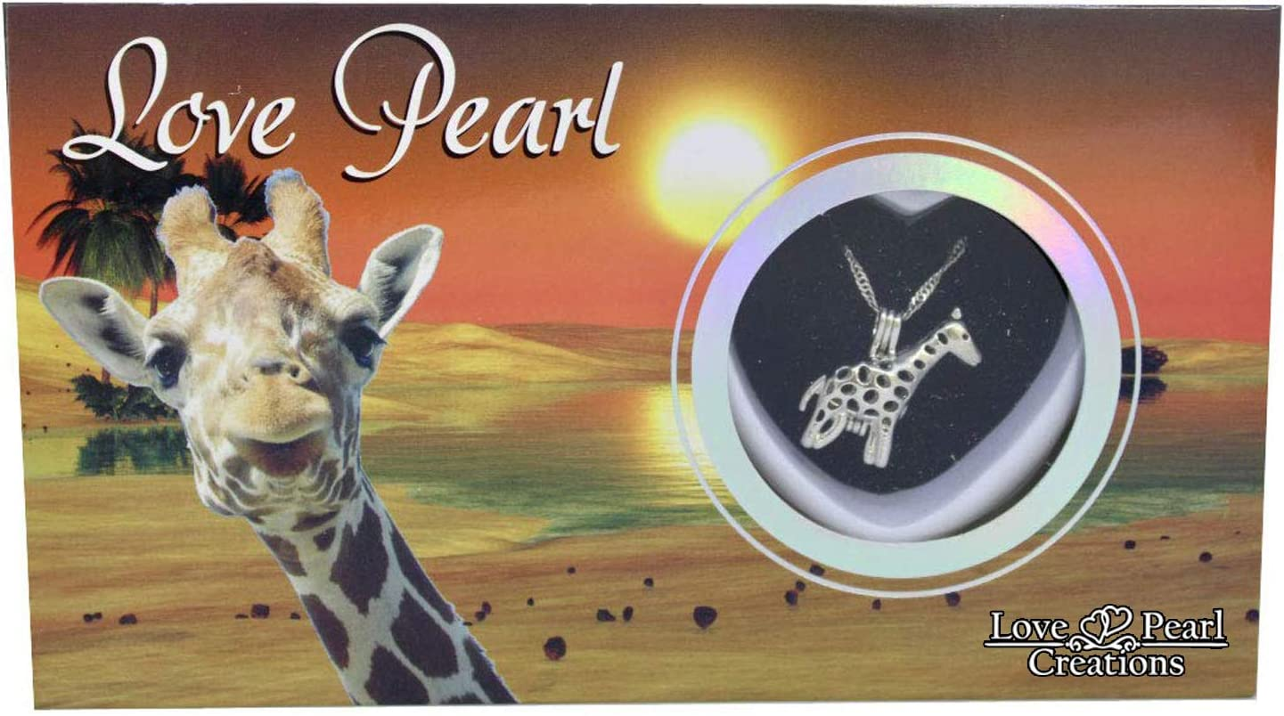 Love Pearl Creations Animals Wish Kit with Pendant Necklace (Gir