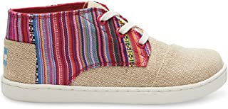 Toms Youth Paseo Mid Natural Burlap Geo Textile 5.5