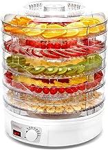 Déshydrateur Alimentaire, Contrôle de la Température, avec 5 Plateaux Empilables, Faible Consommation D'énergie, Facile à ...