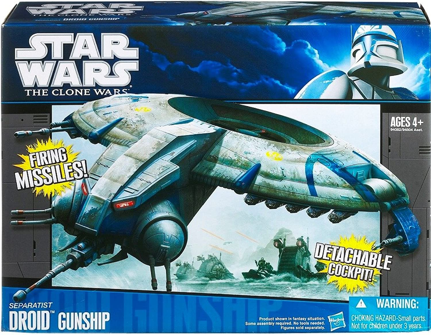 Hasbro Star Wars Clone Starfighter Vehicle  Droid