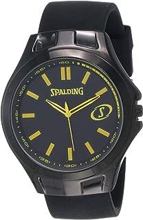 Spalding Analog Yellow Dial Men's Watch-SP-124B