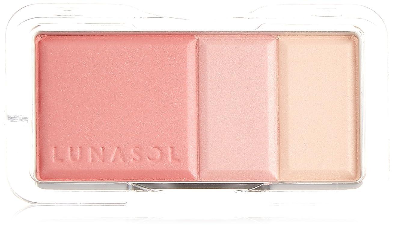 大使天国出発するルナソル カラーリングソフトチークス 02Rose Pink チーク