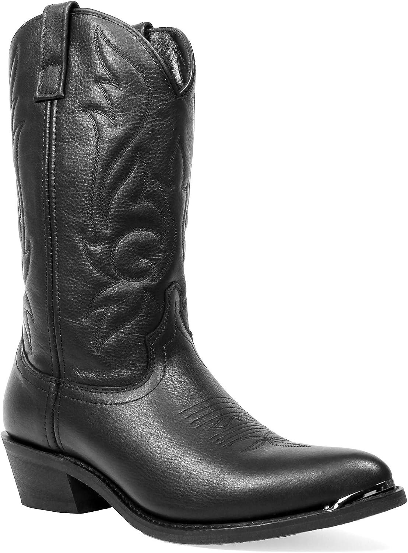 Daily bargain sale Masterson Men's Deertan J Cowboy Toe Western Boot Quantity limited