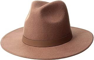 Lack of Color Women's The Fleur Fedora Hat (SM (55cm), Dusty Mauve)