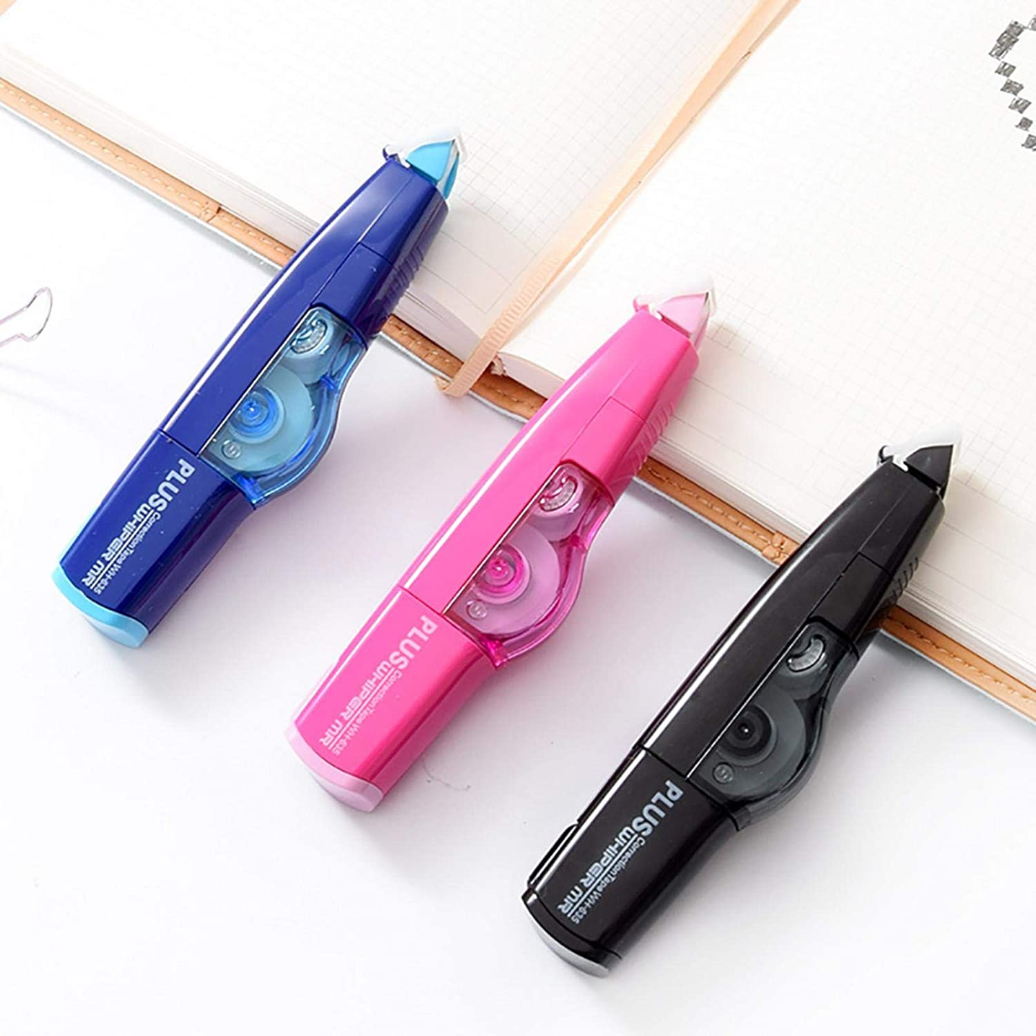Lamptti Mini Correction Tape Environmental Protection Refillable Correction Tape Practical Correction Tape Sticker Study Office Stationery Tool for Students
