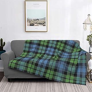 Plaid Blanket Bed Sofa Winter Fleece maryplaid Copenhagen Solid Milk