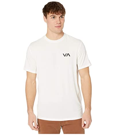 RVCA VA Sport Vent Short Sleeve Top (Antique White) Men
