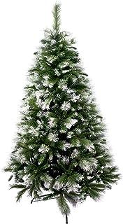 comprar comparacion Árbol de Navidad Artificial de Pino Maxi-Relleno Abeto Artificial C/Soporte Metálico 150-240cm (Nevado, 210cm 960Tips)