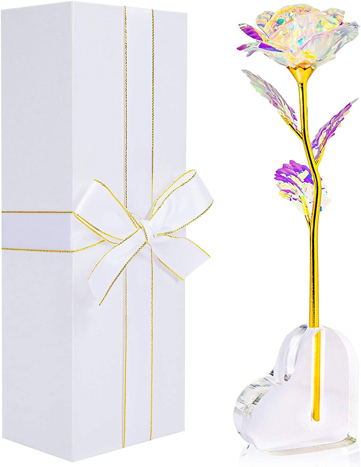 Popular overseas Galaxy Rose Flower Gift-Galaxy Cryst Enchanted Super popular specialty store Forever with