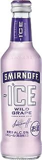 スミノフアイス ワイルドグレープ 瓶 275ml