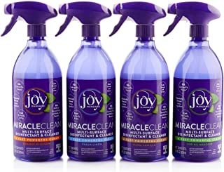Joy Miracle Clean 2 (28) OZ Fast & Powerful Disinfect & Clean Set (Orange Blossom)