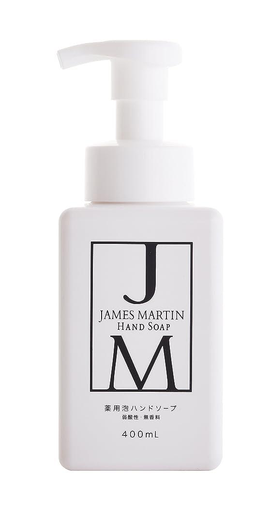 ゴミ火山こどもの日ジェームズマーティン 薬用泡ハンドソープ 無香料 400ML