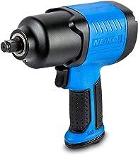 "Neiko 30128A Composite Air Impact Wrench, 1/2"" Square Drive | Pneumatic Compressor.."