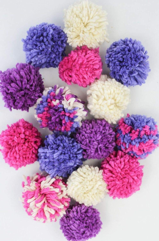 Harrisville Designs Pom Garland Knitting Kit, Purples