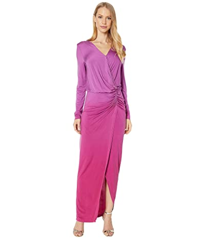 Young Fabulous & Broke Zoe Dress (Magenta Ombre) Women