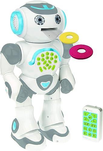 Lexibook- Powerman Max-Robot éducatif et programmable pour Jouer et Apprendre-Jouet pour garçons et Filles-Parle en f...