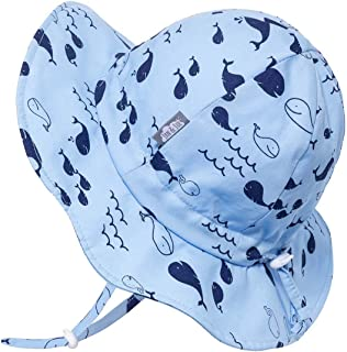 JAN & JUL Boys 50+UPF Breathable Cotton Sun-Hat with...