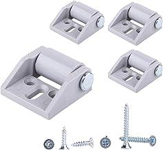 (Pak van 4) Slechts 16 mm rubberen wielen, kunststof wielen met plaat Meubels Apparaten en uitrusting Kleine mini wielen S...