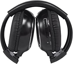Rockville RFH3 Wireless Universal Infrared IR Car Headphones for Any Car Monitor