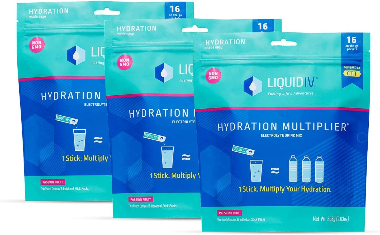 Liquid A surprise price is realized I.V. Hydration Multiplier Bombing free shipping Passion - Fruit Pow