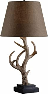 Kenroy Home 32582ANT Buckhorn Table Lamp, 15