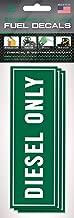 Diesel Fuel Tank Stickers (3 Pack) 6 inch x 2 inch - Fuel Tank Stickers - Trucks, Big Machinery, Farm Equipment, Diesel Storage - Fuel Tank Signage to Prevent User Error | Extreme Adhesive