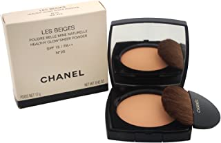 Chanel Les Beiges Healthy Glow Sheer SPF 15 No. 25 Powder for Women, 0.42 Ounce