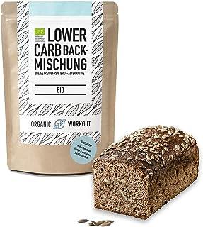 Organic Workout LOWER-CARB-BACKMISCHUNG – Bio, vegan, glutenfrei,..