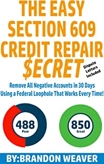 Best section 609 credit repair secret Reviews