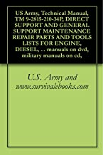 US Army, Technical Manual, TM 9-2815-210-34P, DIRECT SUPPORT AND GENERAL SUPPORT MAINTENANCE REPAIR PARTS AND TOOLS LISTS FOR ENGINE, DIESEL, (MULTIFUEL), ... manuals on dvd, military manuals on cd,
