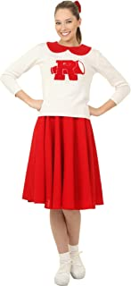 plus size rydell high cheerleader costume