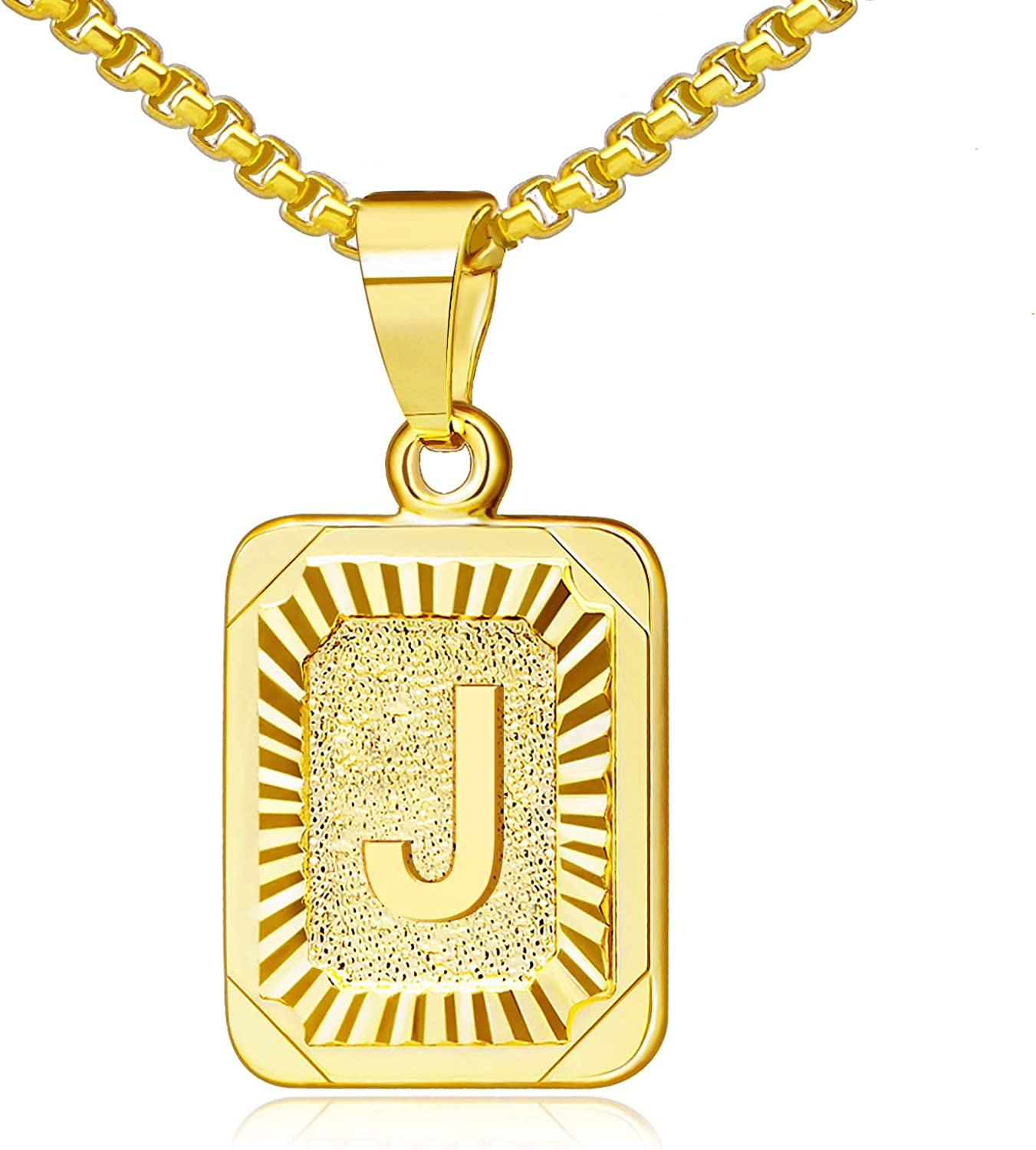 Gold Initial Max 46% OFF Necklaces for Women Letter Denver Mall 26 Capita