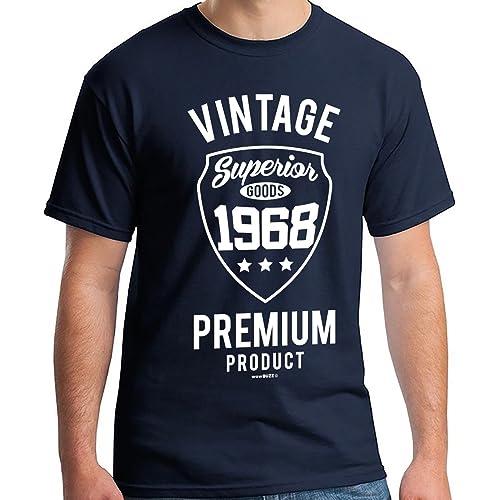 50th Birthday Gifts Men Vintage Premium 1969 T Shirt For
