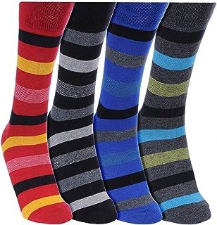 KHI Mens Rider Extra Stretchable Argyle Design Velvet Terry Socks